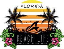 Beachlife Foto de Stock Royalty Free