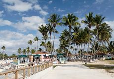 Beachlife des Caraïbes Photo stock
