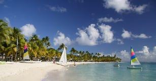Beachlife des Caraïbes Image libre de droits