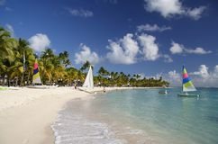 Beachlife des Caraïbes Images libres de droits