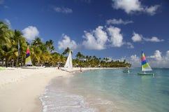 beachlife karaibów Obrazy Royalty Free