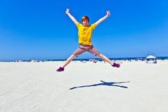 Beachlife in Südmiami Stockfotografie