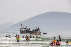 Beachlife vietnamita immagine stock