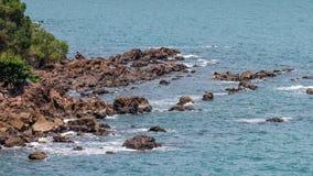 Beachrock Στοκ Εικόνες