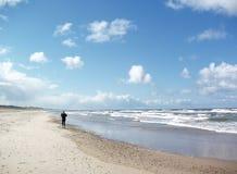 Beachrunner Royalty-vrije Stock Afbeelding