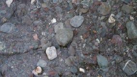 Beachscapes - roccia, acqua, sabbia & pietre Fotografia Stock Libera da Diritti