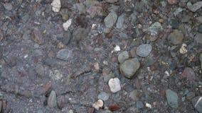 Beachscapes - roccia, acqua, sabbia & pietre Fotografia Stock