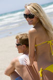 Beachside Royalty Free Stock Photography