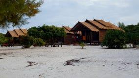 Beachside resort. On koh rong sanloem Stock Photos
