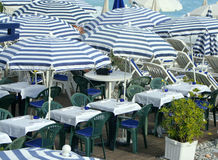Beachside restaurant Royalty Free Stock Photography