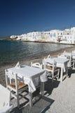 Beachside Restaurant Stock Photography