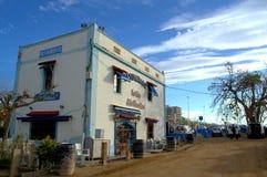 Beachside restaurant,Spain Royalty Free Stock Photo