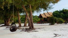Beachside semesterort Arkivbild
