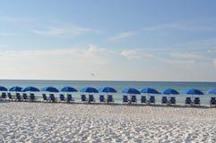 Beachtime krzesła Obrazy Stock