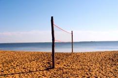 beachvolley夏令时 库存照片