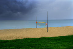 beachvolley Obraz Royalty Free