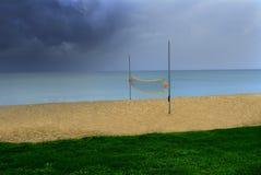 beachvolley Royaltyfri Bild