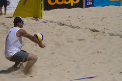 Beachvolley - 21st FIVB Lausanne Satellite Stock Photo