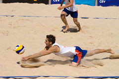 Beachvolley - 21st FIVB Lausanne Satellite Stock Photography