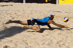 Beachvolley - 21st FIVB Lausanne Satellite Stock Image