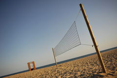 Beachvolley net Stock Image