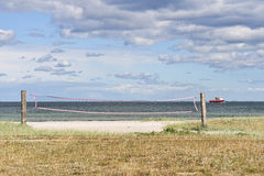 beachvolley sieci Zdjęcia Stock