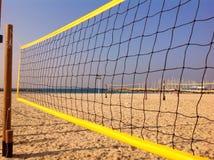 Beachvolley in Tel Aviv, Israel Lizenzfreies Stockfoto