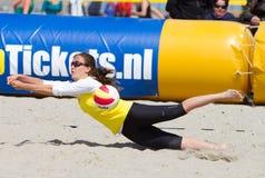 Beachvolleybal Στοκ Εικόνες