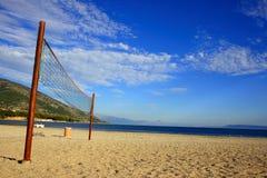 Beachvolleyball Fotografia Stock