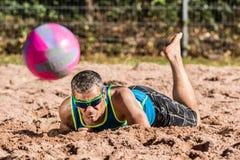 Beachvolleyballer Royalty Free Stock Images