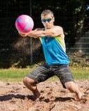 Beachvolleyballer Royalty Free Stock Photography