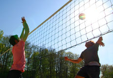 Beachvollyball Stock Photo