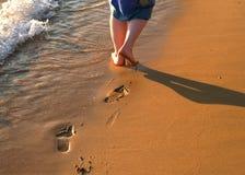 Beachwalk Royalty Free Stock Image