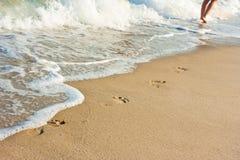 Beachwalk Royalty Free Stock Photos