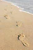 Beachwalk Stockfotografie