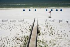 Beachwalk Royalty Free Stock Images