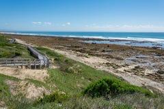 Beachwalk w Portowym Elisabeth, Południowa Afryka Zdjęcia Royalty Free