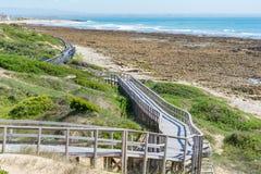 Beachwalk w Portowym Elisabeth, Południowa Afryka Fotografia Royalty Free