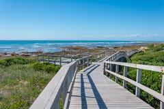 Beachwalk w Portowym Elisabeth, Południowa Afryka Obrazy Stock