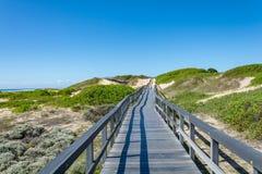 Beachwalk w Portowym Elisabeth, Południowa Afryka Fotografia Stock