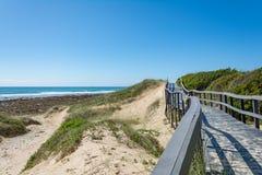 Beachwalk w Portowym Elisabeth, Południowa Afryka Obraz Royalty Free