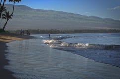 Beachwalkers de Maui Imagen de archivo