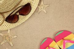 Beachwear variopinto di estate fotografia stock
