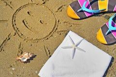 Beachwear variopinto di estate fotografia stock libera da diritti