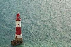 Beachy επικεφαλής φάρος, ανατολικό Σάσσεξ, UK στοκ φωτογραφία