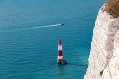 Beachy голова, восточное Сассекс, Великобритания Стоковое Изображение