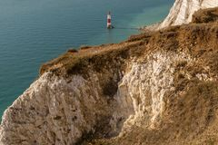 Beachy голова, восточное Сассекс, Великобритания Стоковая Фотография