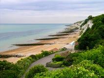 Beachy головной берег в Великобритании стоковое фото rf