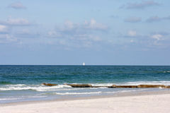 Beachy Day. Day at the beach.Madeira Beach Florida Beach Royalty Free Stock Photo