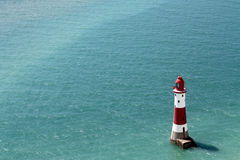 Beachy Hauptleuchtturm Lizenzfreie Stockfotos